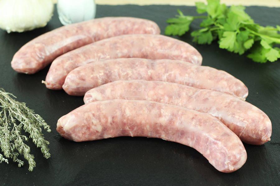Saucisse de Toulouse - Ferme Courtois - La Ruche qui dit Oui ! à la maison