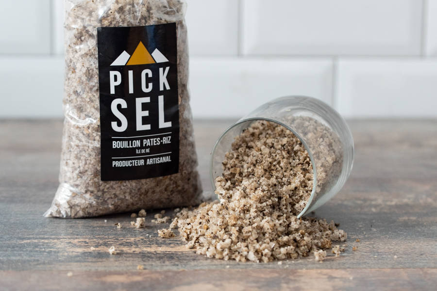 Sachet bouillon gros sel pâtes et riz - PickSel - La Ruche qui dit Oui ! à la maison