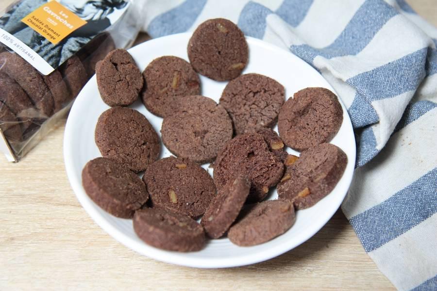Sablés Diamant Chocolat Orange - Les Gavroches - La Ruche qui dit Oui ! à la maison
