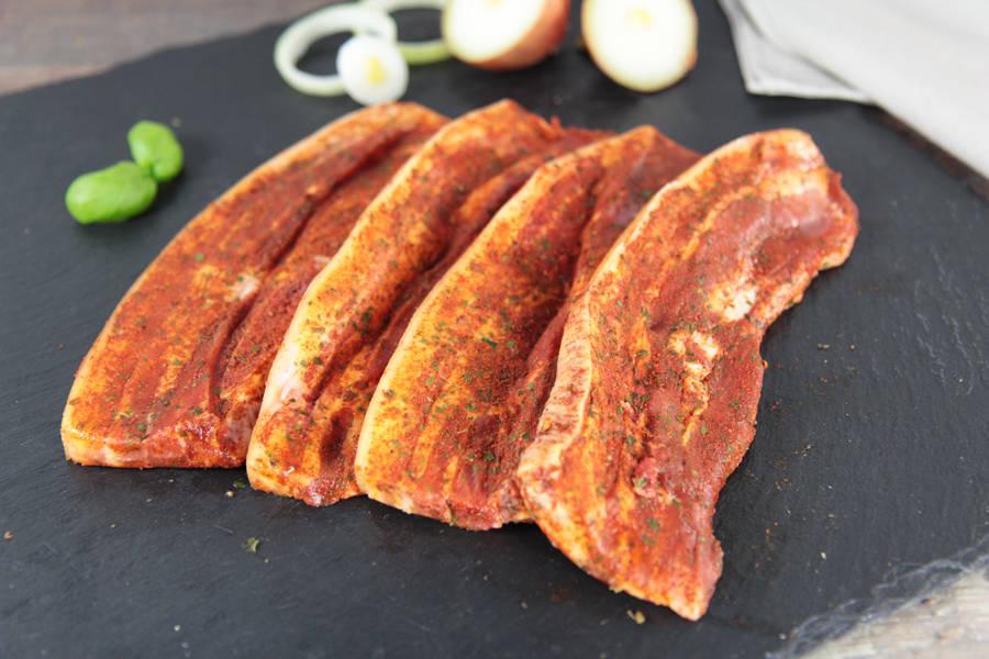 Poitrine de porc à la mexicaine - Ferme de Moneuse - La Ruche qui dit Oui ! à la maison