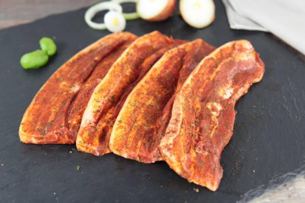 Poitrine de porc à la mexicaine - Ferme de Moneuse - Le Comptoir Local