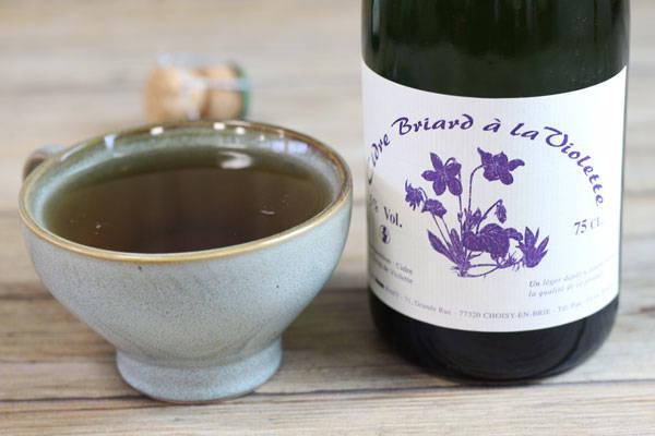 Cidre Briard à la violette - Ferme des Fahy