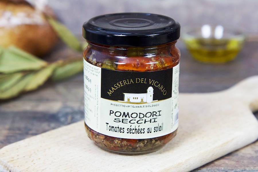 Tomates séchées à l'huile d'olive extra-vierge BIO - Antonio Cordisco - La Ruche qui dit Oui ! à la maison