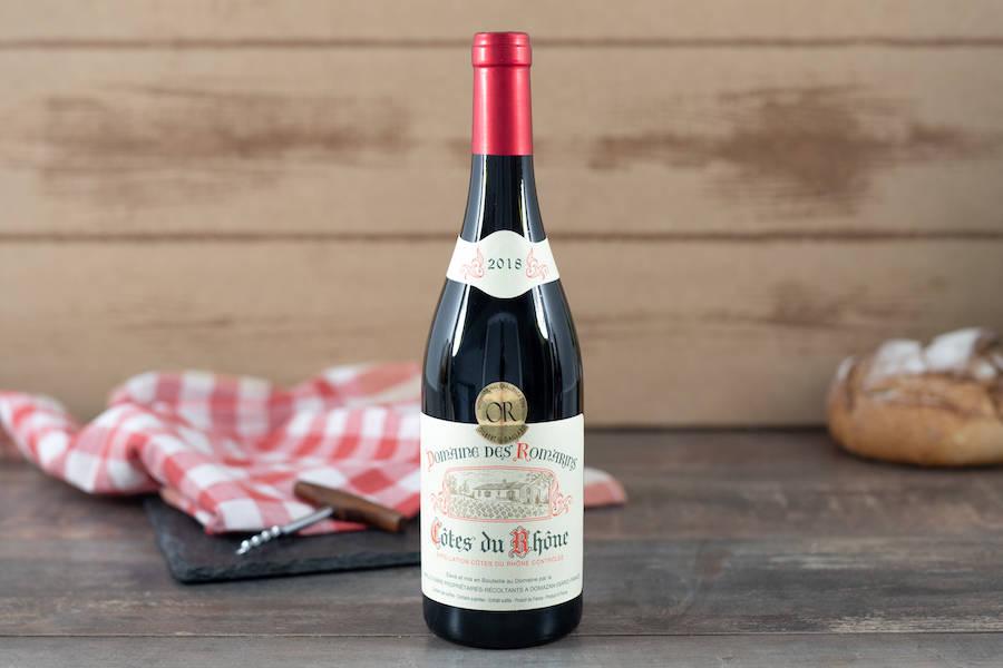 Côtes du Rhône traditionnel - AOP - Domaine des Romarins - La Ruche qui dit Oui ! à la maison