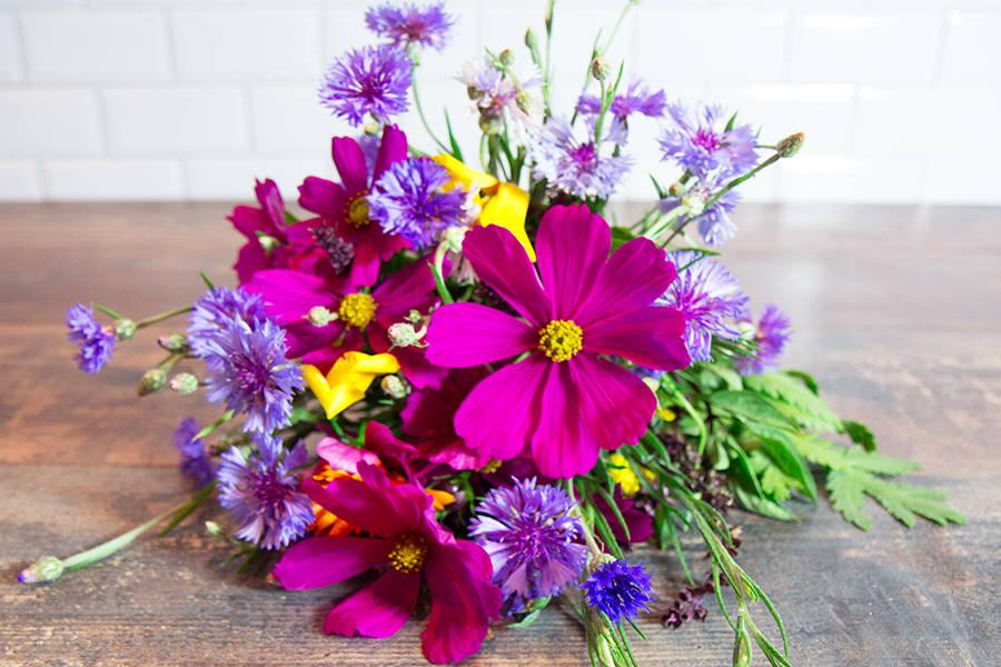 Bouquet champêtre - Aéromate - La Ruche qui dit Oui ! à la maison