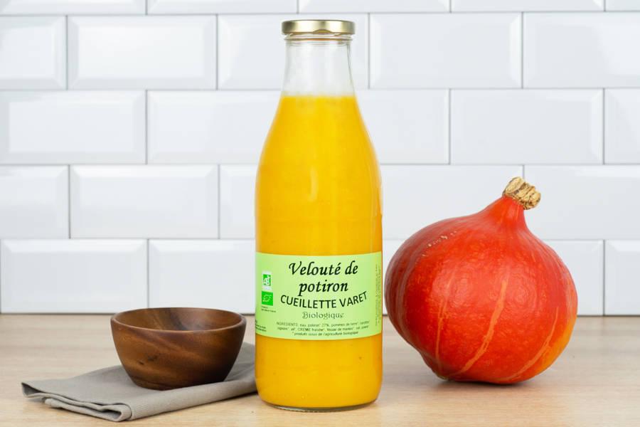 Velouté de potiron - Conserverie de la cueillette Varet - La Ruche qui dit Oui ! à la maison