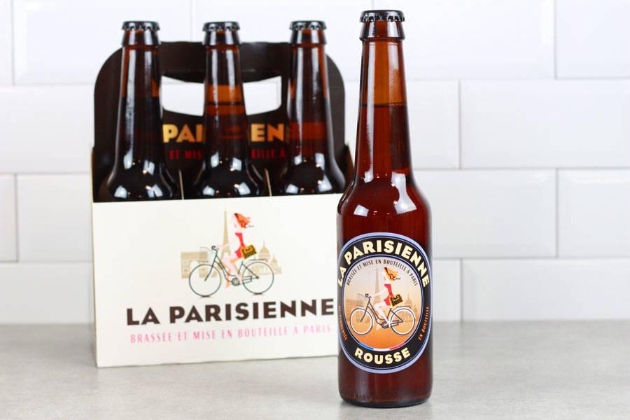 Bière Rousse - Brasserie La Parisienne - La Ruche qui dit Oui ! à la maison
