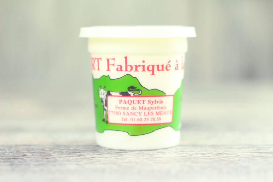 Yaourt à la poire - Ferme de Mauperthuis - La Ruche qui dit Oui ! à la maison