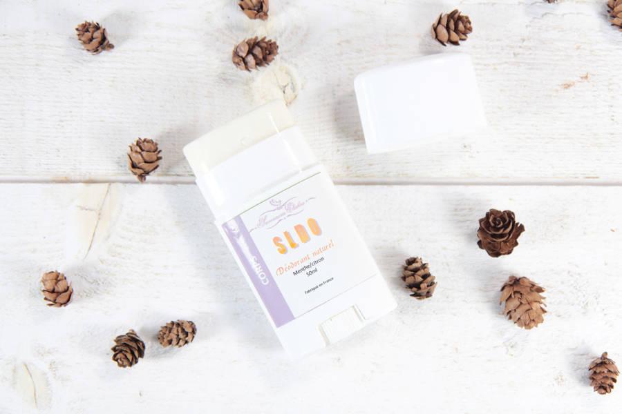 Déodorant 100% naturel menthe citron - Savonnerie Elishéa - La Ruche qui dit Oui ! à la maison