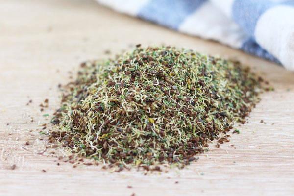 Jeunes pousses séchées Alfalfa - Le Jardin de Guillaume