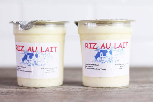 Riz au lait - Ferme de Saint-Thibault des Vignes