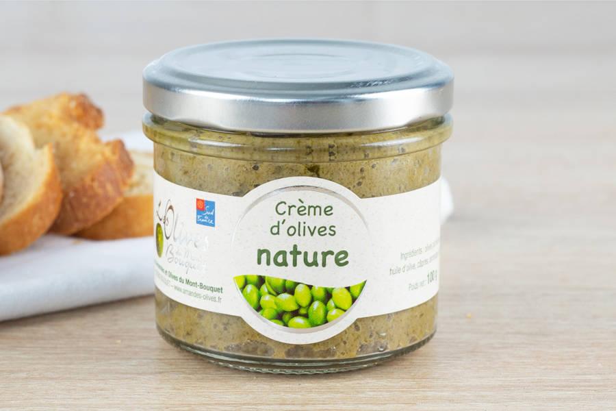 Crème d'olive nature - Les amandes du Mont Bouquet - La Ruche qui dit Oui ! à la maison
