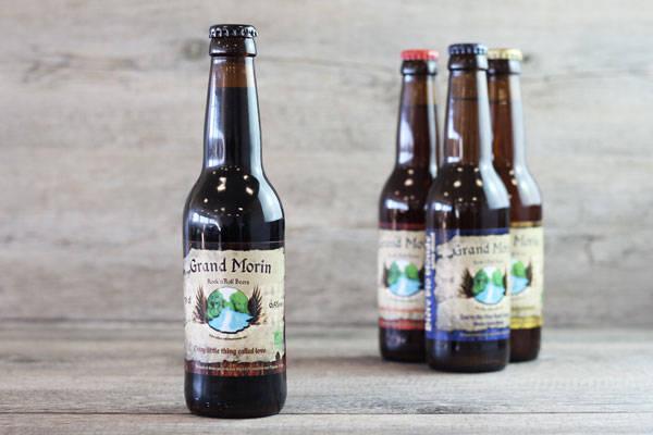 Bière Brune Crécy Little  Thing Called  Love BIO - Brasserie du Pont de Coude