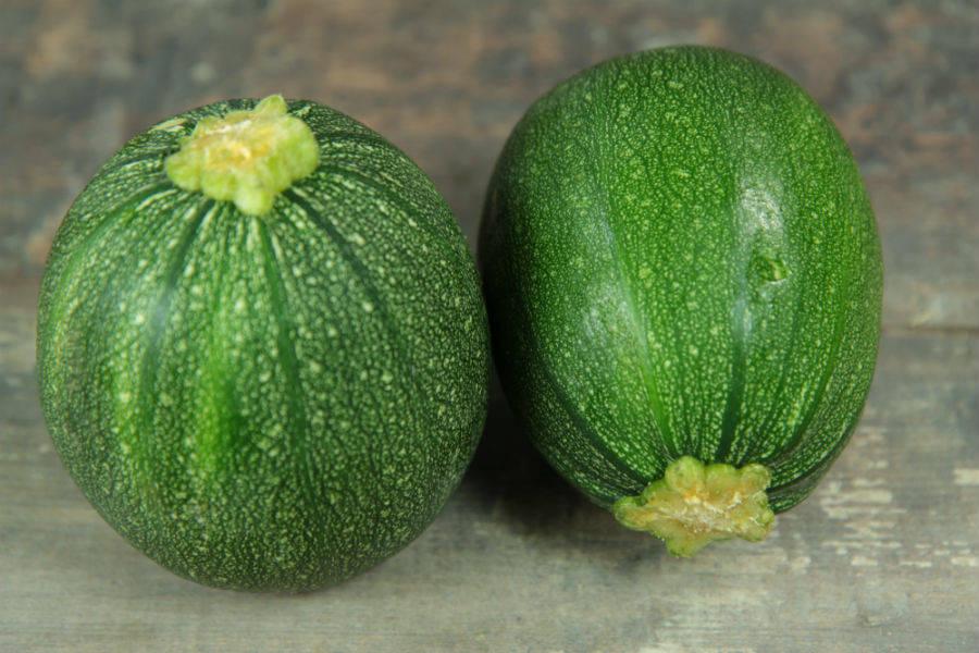 Courgette ronde BIO - Les jardins de Courances - La Ruche qui dit Oui ! à la maison