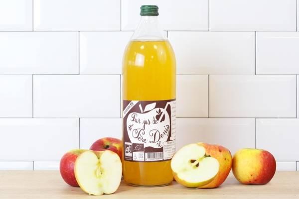 Jus de pomme Fleuritard BIO - Le Père Denis