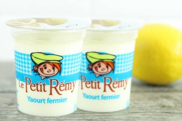 Yaourt fermier au citron - Ferme du petit Rémy