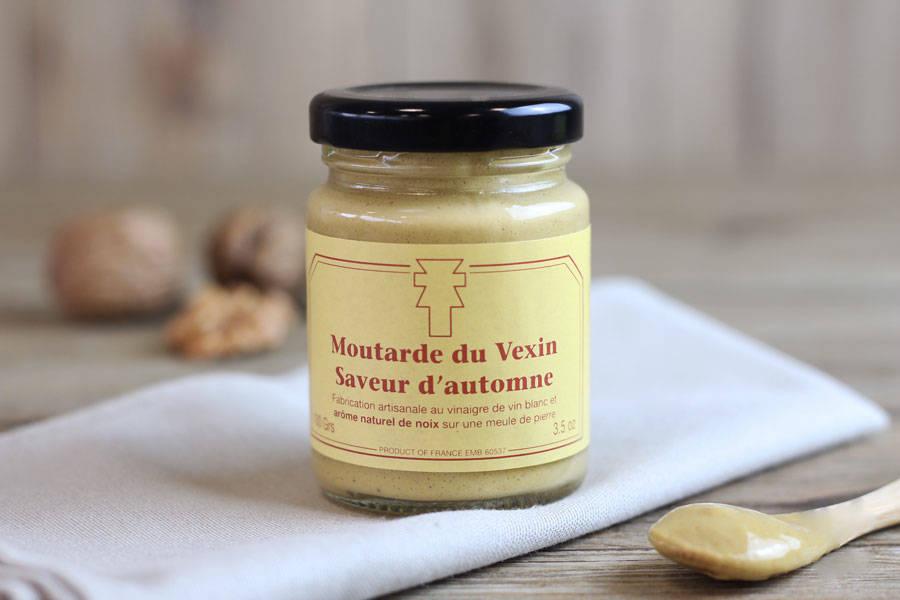 Moutarde du Vexin saveur d'automne - Ferme de la Distillerie - La Ruche qui dit Oui ! à la maison