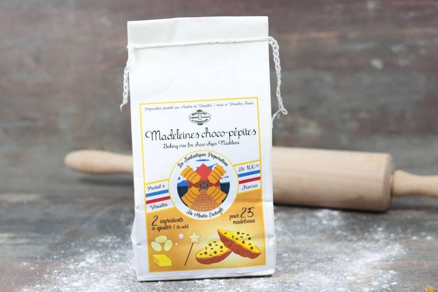 Préparation pour madeleines chocopépites - Les Moulins de Versailles - La Ruche qui dit Oui ! à la maison