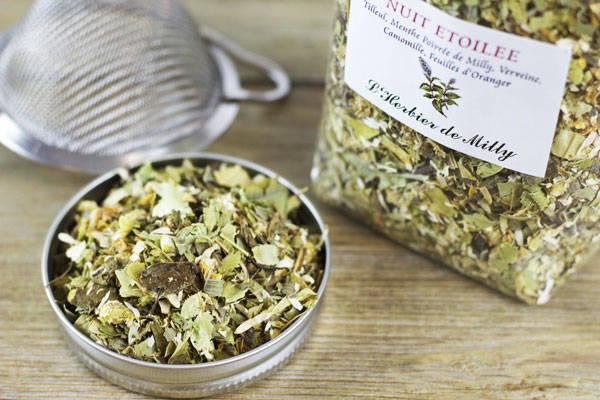 Tisane Nuit étoilée - L'Herbier de Milly - Le Comptoir Local