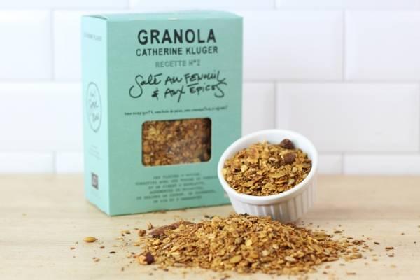 Granola BIO Salé au fenouil aux épices - Catherine Kluger Granola
