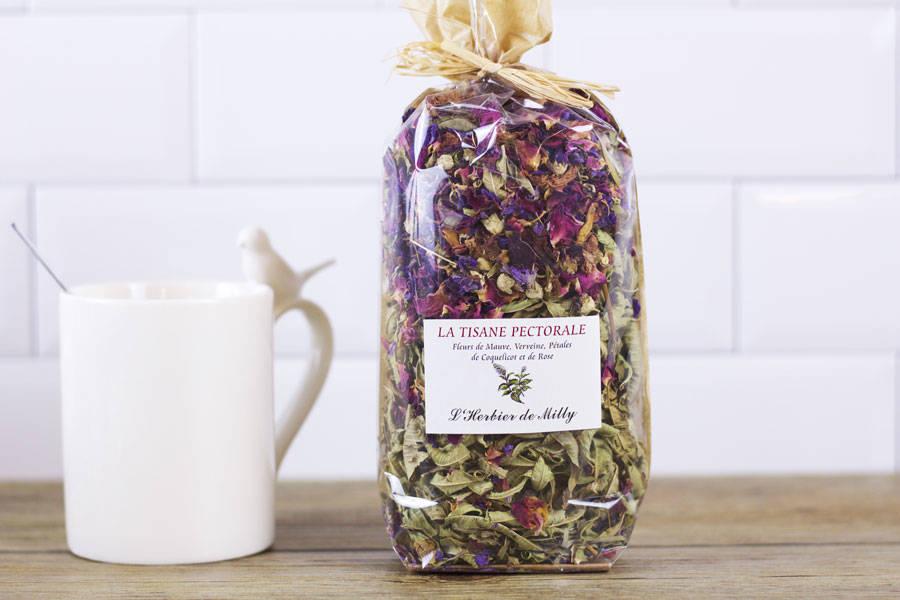 Tisane pectorale - L'Herbier de Milly - La Ruche qui dit Oui ! à la maison