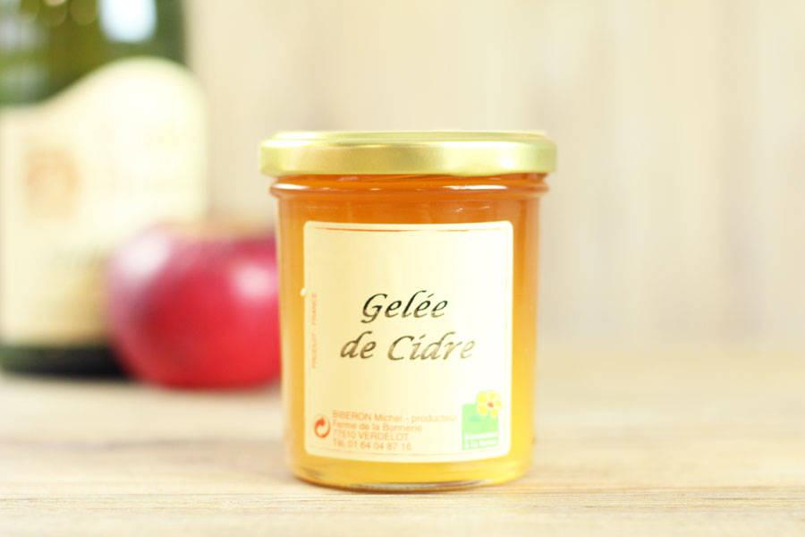 Gelée de cidre - Ferme de la Bonnerie - La Ruche qui dit Oui ! à la maison