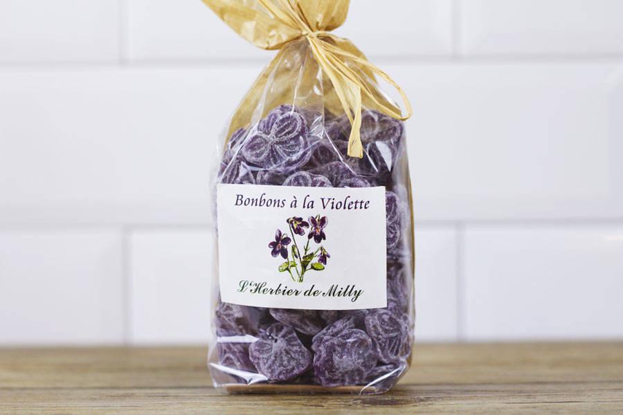 Bonbons à la violette BIO - L'Herbier de Milly - La Ruche qui dit Oui ! à la maison