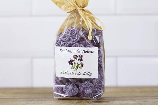 Bonbons à la violette - L'Herbier de Milly