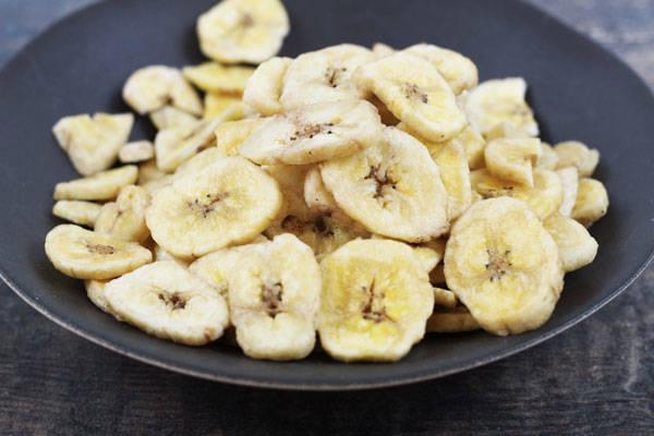 Rondelles de bananes séchées - Le Jardin de Guillaume