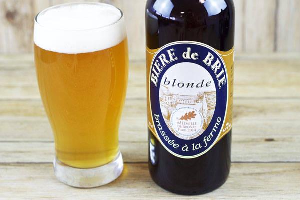 Bière de Brie Blonde  - Brasserie Rabourdin