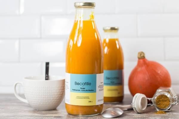 Soupe de Potimarron Curry - Conserverie de Larnière - Le Comptoir Local