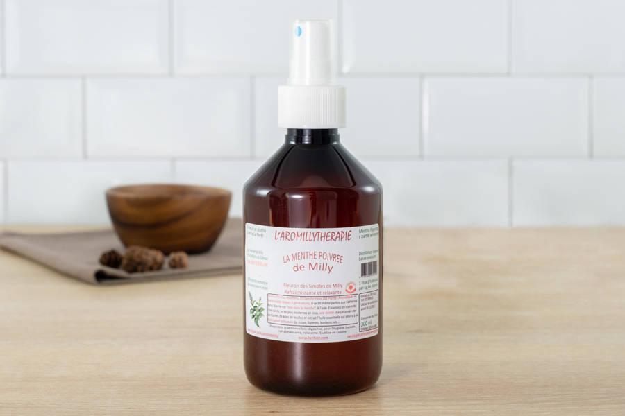 Hydrolat aromatique de mélisse - L'Herbier de Milly - La Ruche qui dit Oui ! à la maison