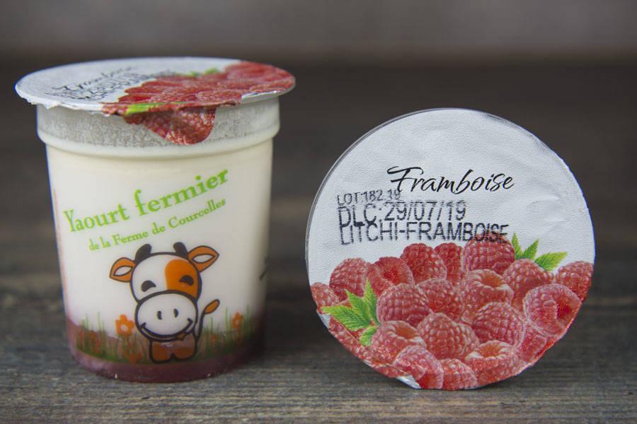 Yaourt Fruits Rouges - Ferme de Courcelles - La Ruche qui dit Oui ! à la maison