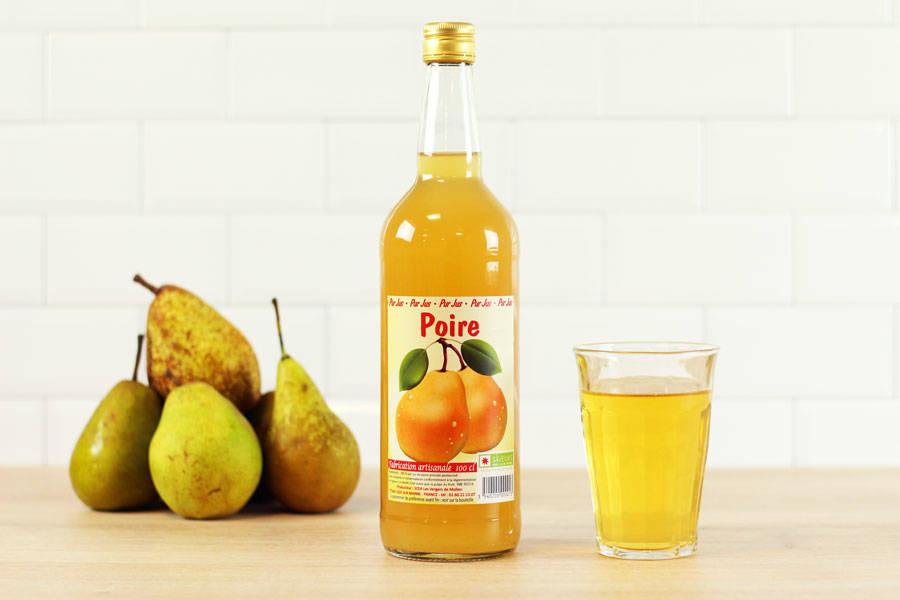Jus de poire - Vergers de Molien - La Ruche qui dit Oui ! à la maison