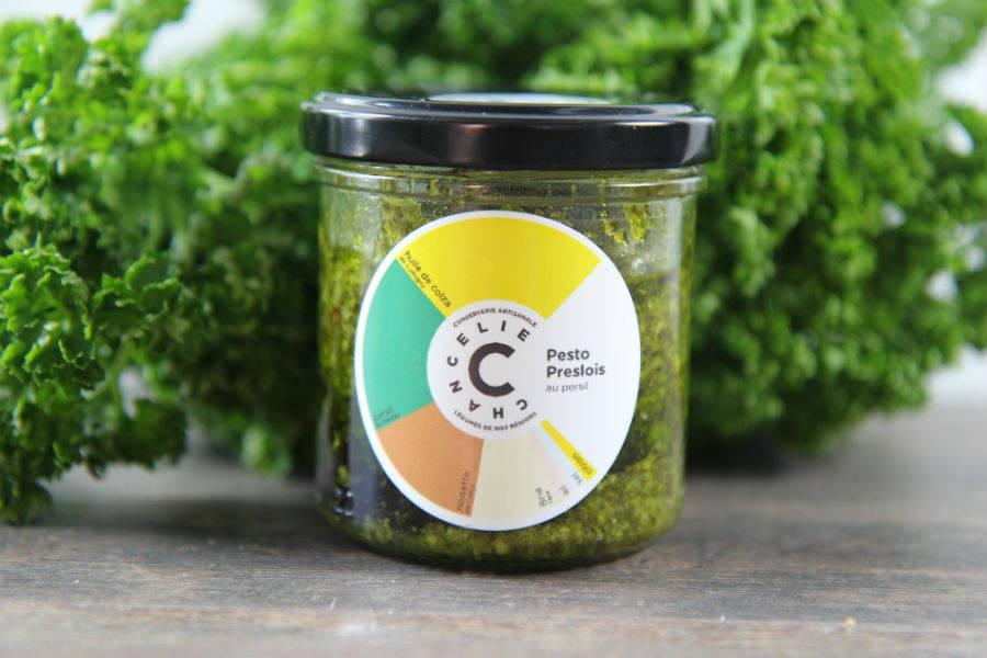 Pesto Preslois au persil - Chancelie - La Ruche qui dit Oui ! à la maison