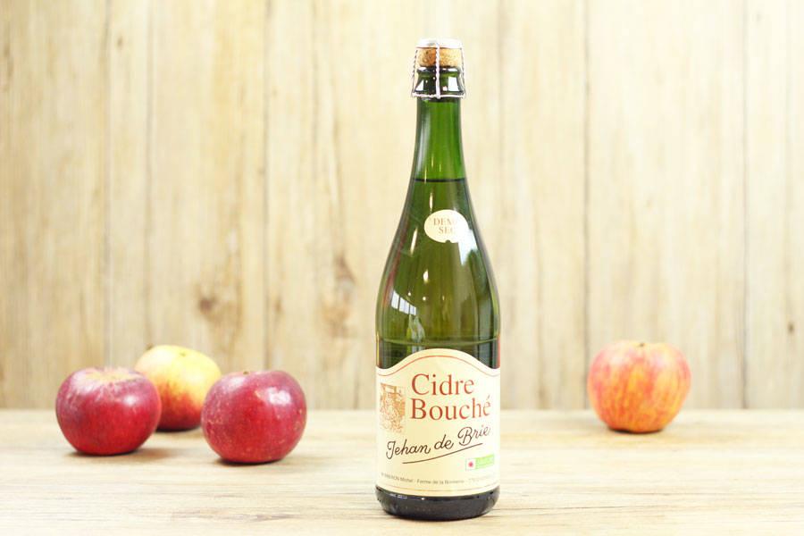 Cidre bouché Jehan de Brie - Ferme de la Bonnerie - La Ruche qui dit Oui ! à la maison