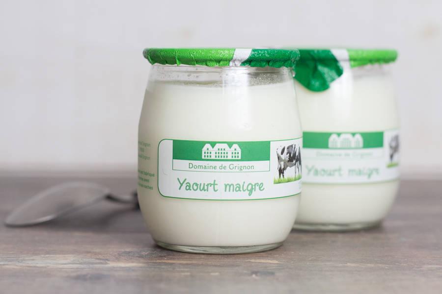 Yaourt nature maigre 0% - Ferme de Grignon - La Ruche qui dit Oui ! à la maison