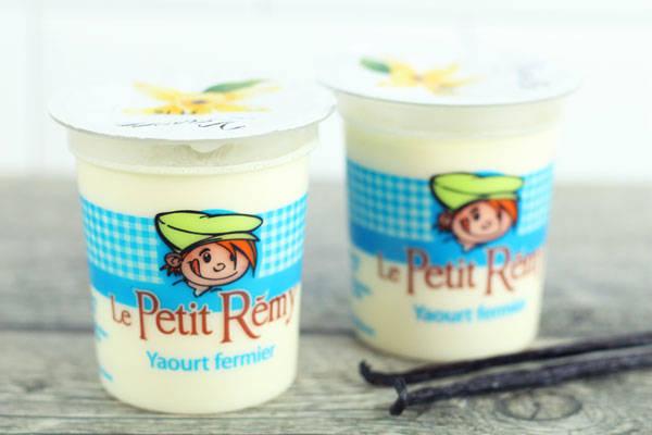Yaourt fermier à la vanille - Ferme du petit Rémy