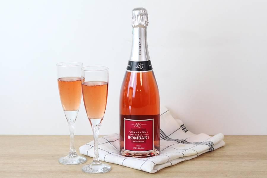 Champagne L'Esthétique - AOC Champagne - Champagne Hervé Bombart - La Ruche qui dit Oui ! à la maison