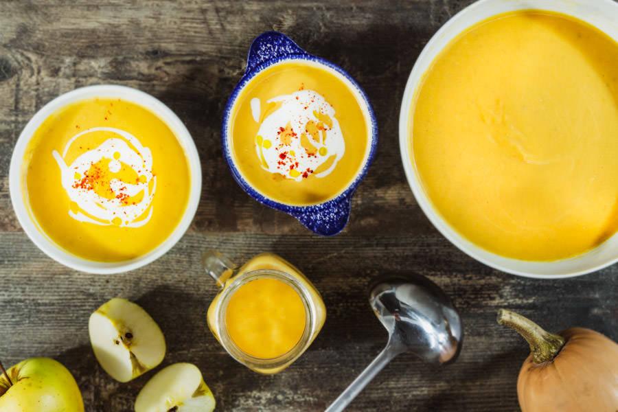 Kit velouté de butternut aux pommes - La Ruche Mama - La Ruche qui dit Oui ! à la maison