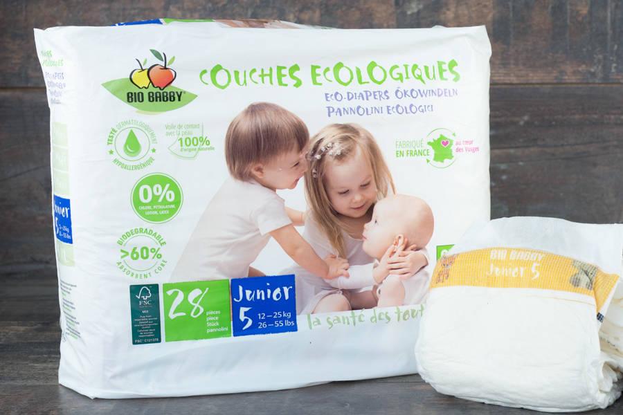 Couches Jetables x28 (JUNIOR - 12/25kg) - BB Distribe - La Ruche qui dit Oui ! à la maison