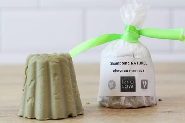 Shampoing savon Olive et argile verte  - Terra Lova