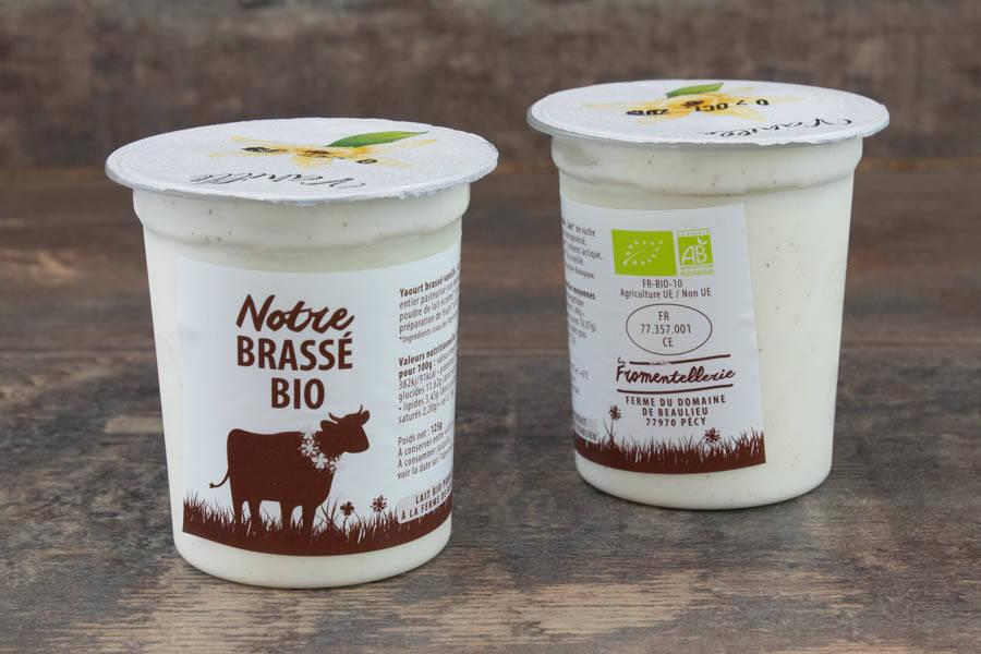 Yaourt brassé vanille BIO - La Fromentellerie - La Ruche qui dit Oui ! à la maison
