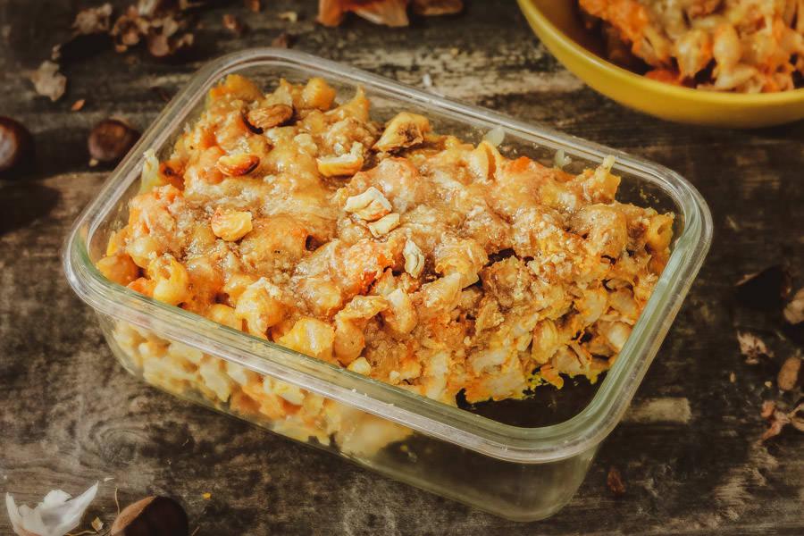 Douceur de pâtes butternut / châtaignes - La Ruche Mama - La Ruche qui dit Oui ! à la maison