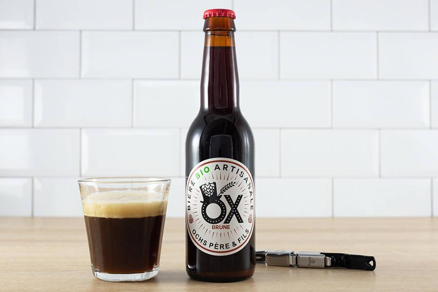 Ox brune BIO 33 cl - Brasserie Ox - La Ruche qui dit Oui ! à la maison