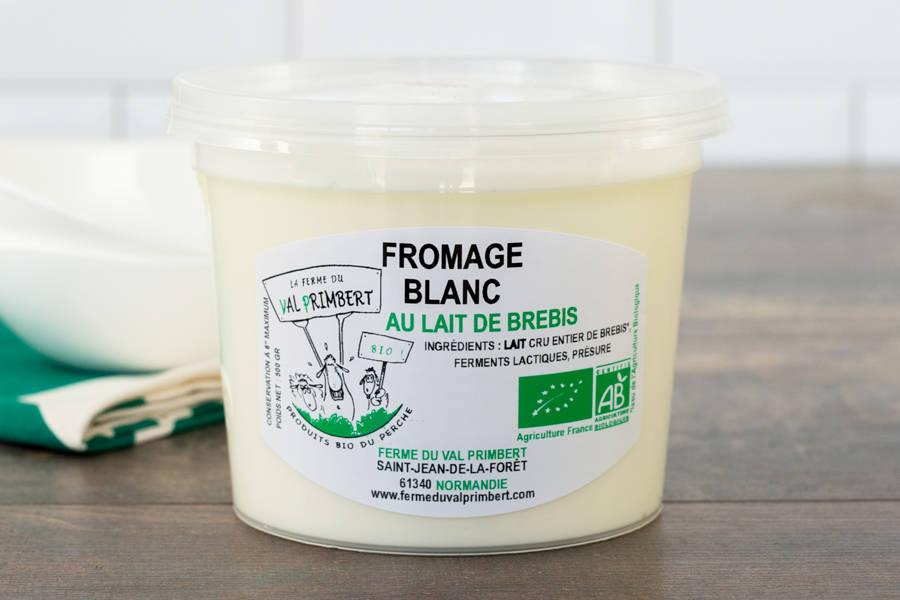Fromage blanc de brebis - Ferme du Val Primbert - La Ruche qui dit Oui ! à la maison