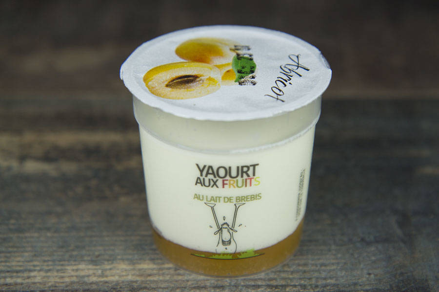Yaourt de brebis abricot BIO - Ferme du Val Primbert - La Ruche qui dit Oui ! à la maison