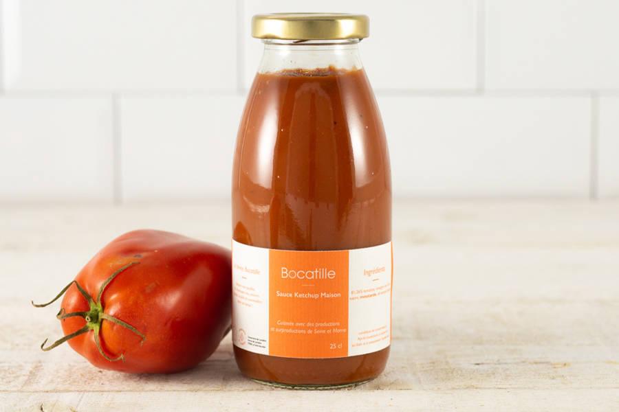 Ketchup - Conserverie de Larnière - La Ruche qui dit Oui ! à la maison