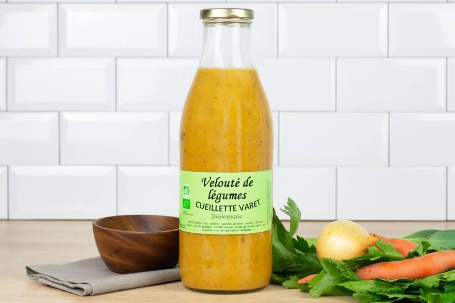 Velouté de légumes - Conserverie de la cueillette Varet - La Ruche qui dit Oui ! à la maison