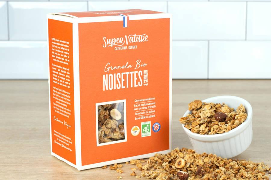 Granola Noisette et Sarrasin BIO - Catherine Kluger Granola - La Ruche qui dit Oui ! à la maison